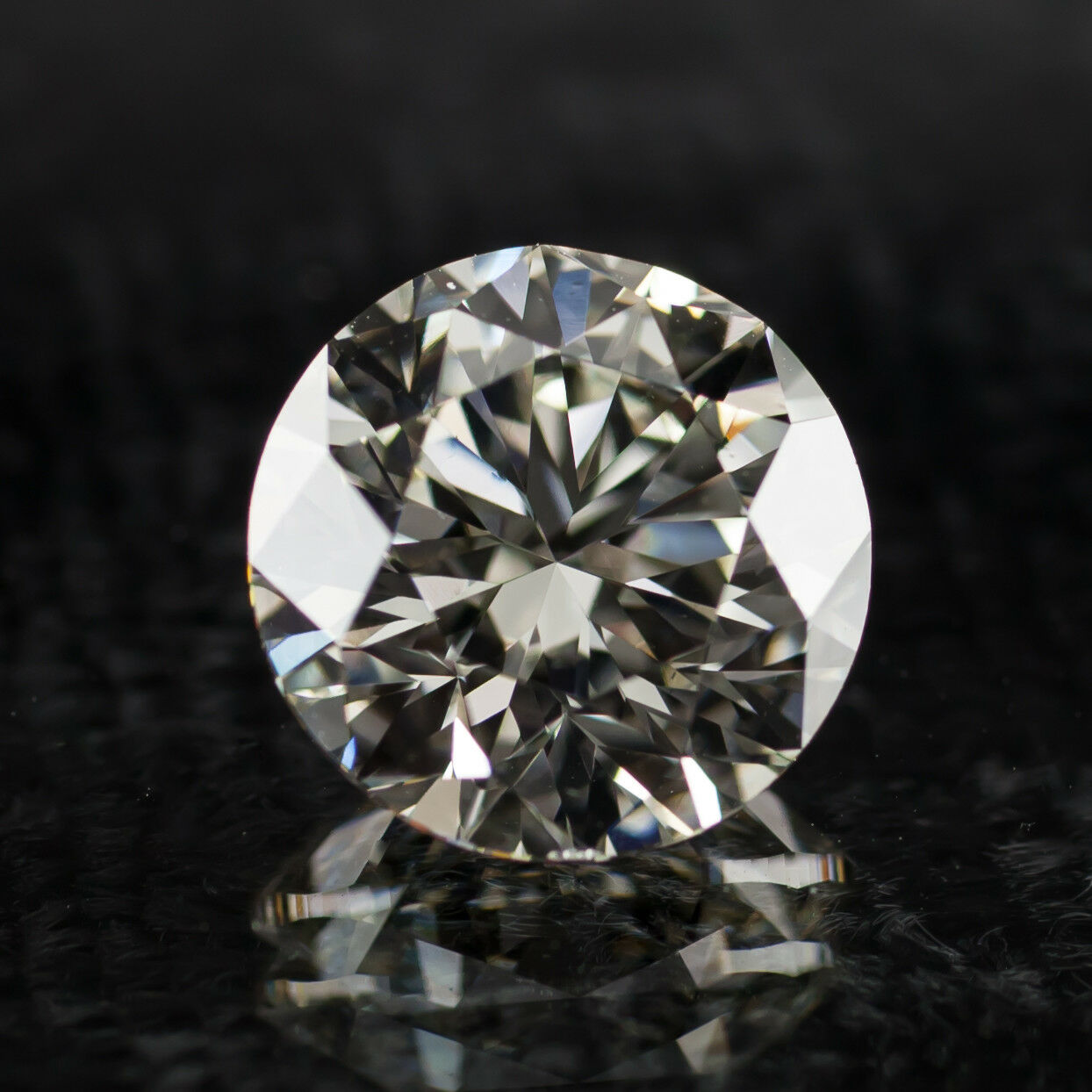 3.02 Carat Loose L  / VS2 Round Brilliant Cut Diamond GIA Certified