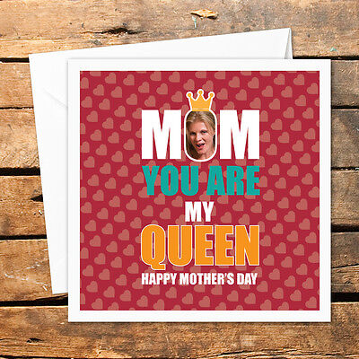 Handmade Personalised Happy Mothers Day Card Birthday Christmas Photo Nan Mom](Happy Mothers Day Photos)