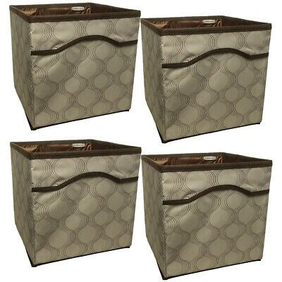 4pk Rubbermaid Storage Containers Collapsible Storage Containers Storage Bins Canvas Closet Organizers