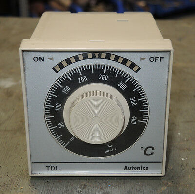Autonics Tdl Temperature Controller 400c Readout - New