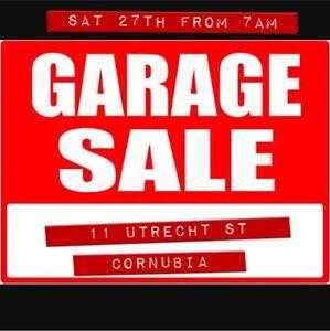 GARAGE SALE (Sat 27th from 7AM) Cornubia Logan Area Preview