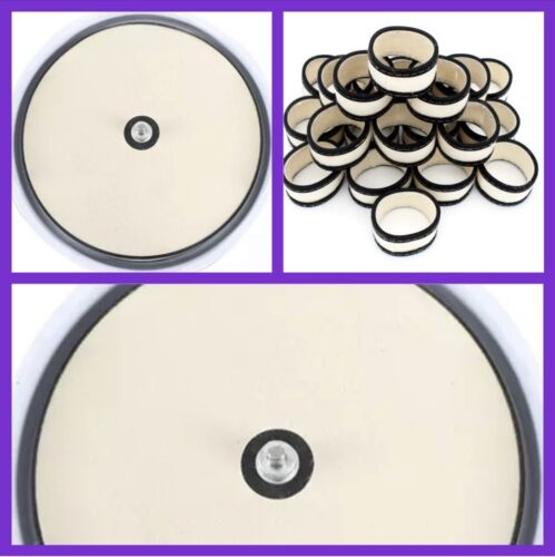 SNOOKER BALL CLEANING MACHINE REPLACEMENT SET -BASE MAT and WOOL RINGS