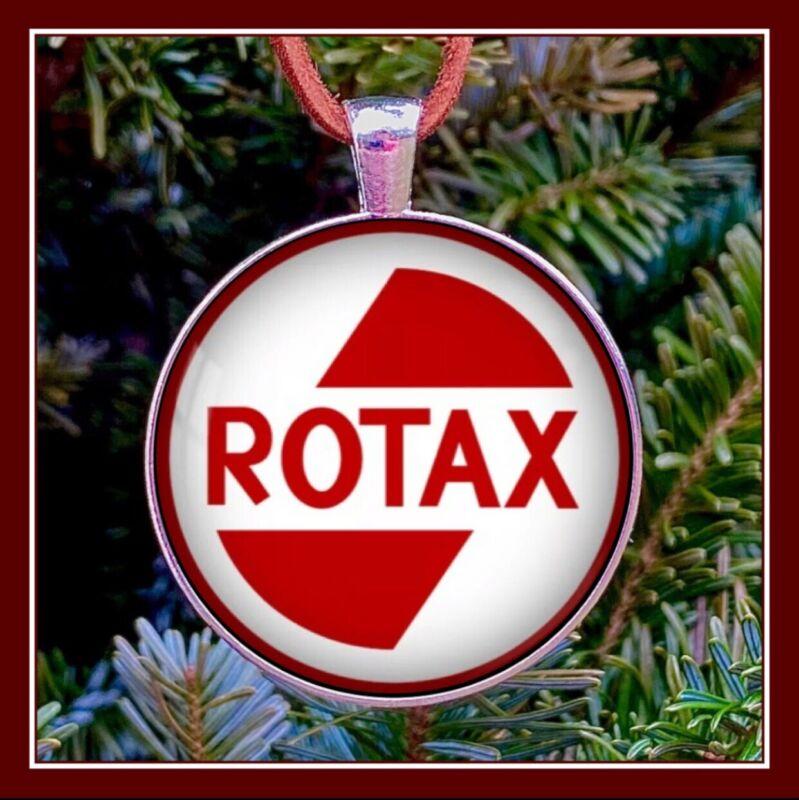 Rotax SkiDoo Emblem Photo Ornament Snow Machine Ski Doo Snowmobile Gift