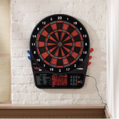 Viper 800 Soft Tipped LED Electronic Dartboard DARTS 15.5""