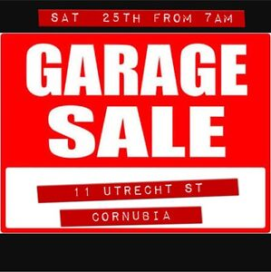 GARAGE SALE (Sat 25th from 7AM) Cornubia Logan Area Preview