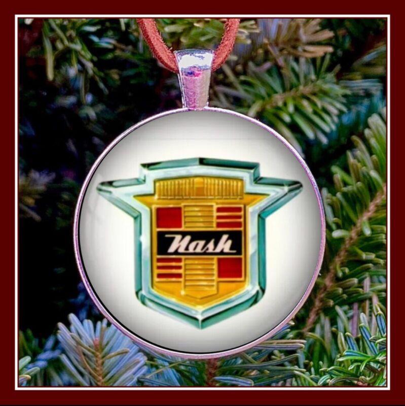 Nash Emblem Photo Ornament Pendant Gift