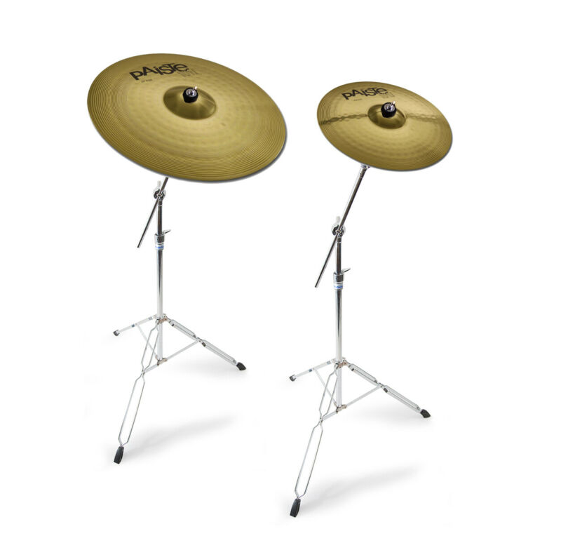 Paiste 101 Cymbals, Ride And Crash Offer With Mapex Stands