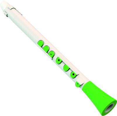 Nuvo Dood Klarinette in weiß-grün (C-Stimmung)