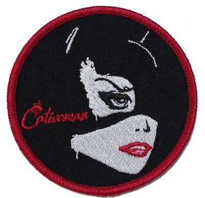 Catwoman Embroidered Iron On Patch - DC Comics Batman Villain Girl 143-V](Girl Villains)