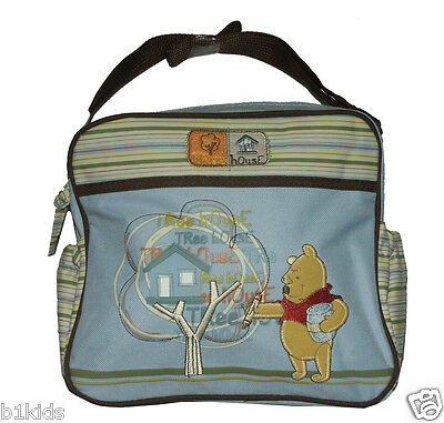 Disney Mini Diaper Bag Winnie The Pooh Pink,Blue,Brown Newborn Baby New With -