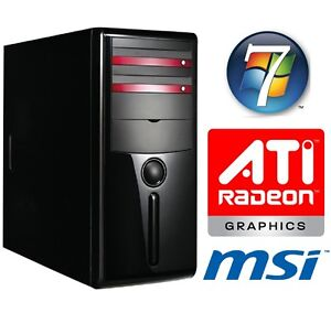 Complete-PC-hd6450-Windows7-AMD-Athlon-II-x2-250-3-0-ghz-4gb-ddr3-1tb-Computer