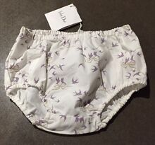 Baby Dior NEW 3 month White & Lavender knickers Panty BloomersFREEPOST Dingley Village Kingston Area Preview