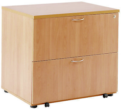 Tc Tkdh800sf. Beech 2-drawer Wooden Side-filing Cabinet Lateral Filing Cabinet