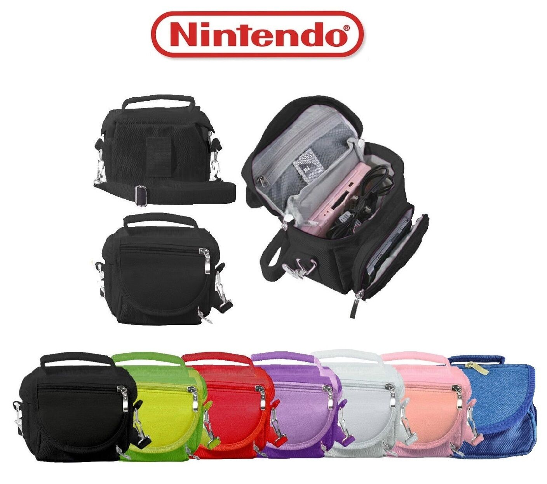 new premium travel bag carry case for nintendo ds lite dsi dsi xl 3ds 3ds ebay. Black Bedroom Furniture Sets. Home Design Ideas