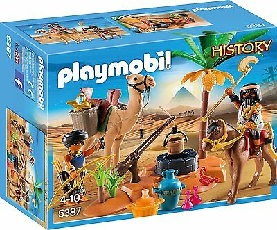 PLAYMOBIL History Edition Grabräuber-Lager Spielzeugfigur Kinderspiel Spielzeug