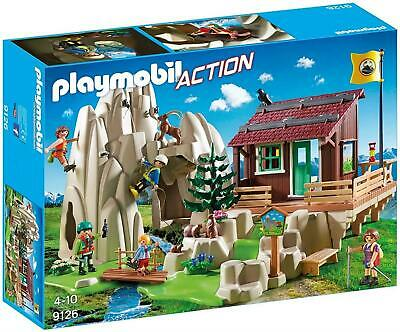 Playmobil Action 9126 Rock Climbers with Cabin