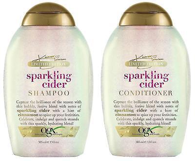 OGX Limited Edition Sparkling Cider Shampoo & Conditioner 13 oz - 13 Oz