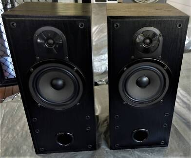 Bowers & Wilkins B&W 202i Vintage Bookshelf Speakers Hi Fi Stereo