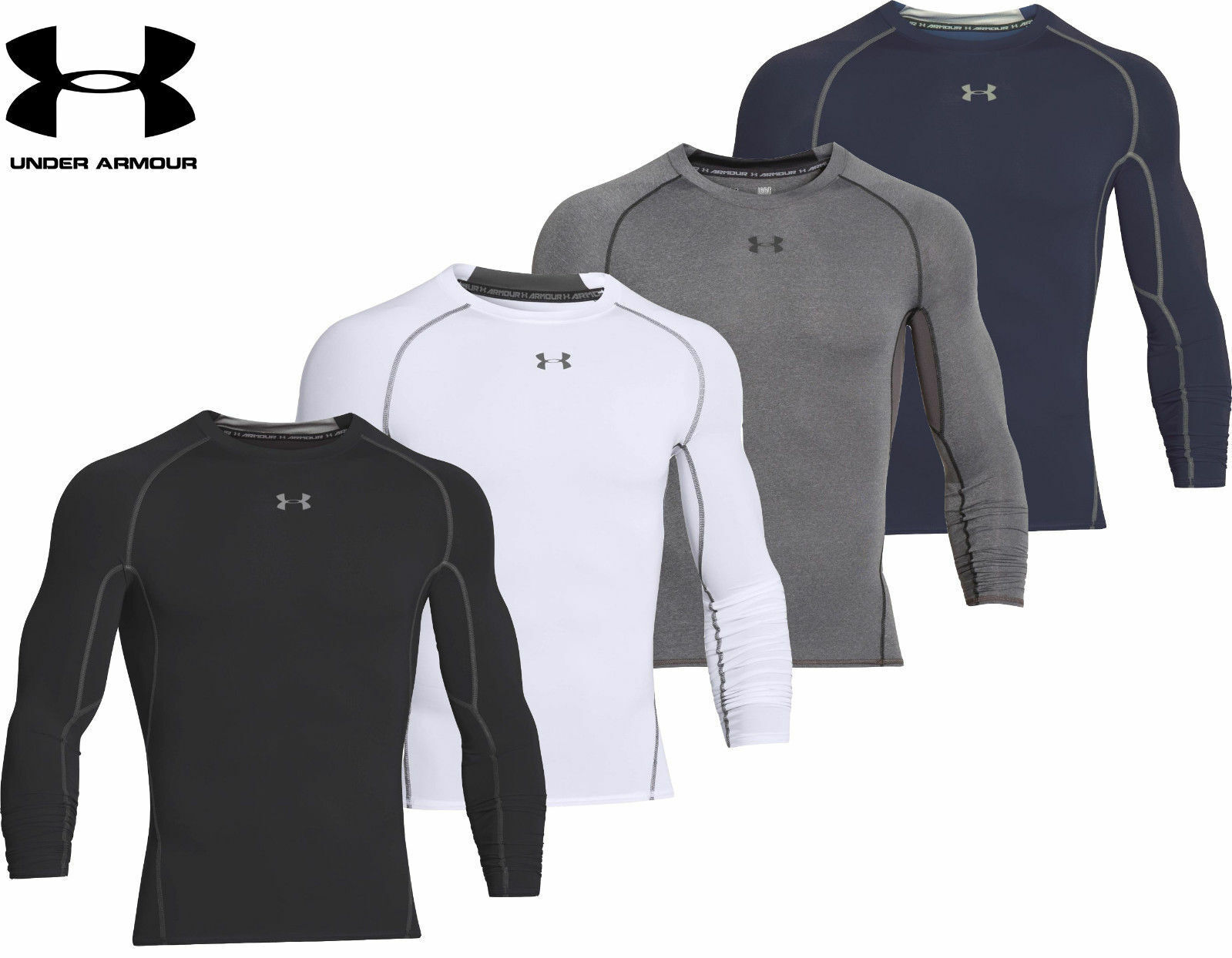Under Armour UA Men's HeatGear Compression Shirt  - FREE SHI