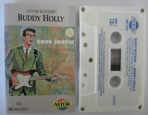 BUDDY-HOLLY-GOOD-ROCKIN-RARE-AUSTRALIAN-CASSETTE-TAPE