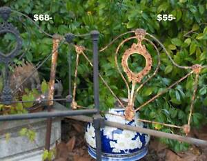 Cast Iron single bed ends, other decorative and antique items Martin Gosnells Area Preview
