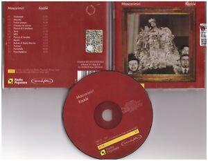 MASCARIMIRI'–Kaddé Sensible record– SSB 018,Arpa– 11 cd - Italia - MASCARIMIRI'–Kaddé Sensible record– SSB 018,Arpa– 11 cd - Italia