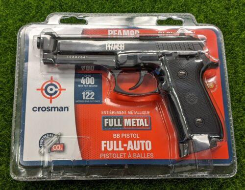Crosman PFAM9B Synthetic Full Auto CO2 BB Pistol, .177 Caliber, Black - PFAM9B