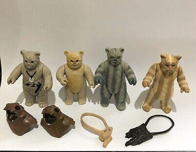 Vintage Star Wars Ewok Bundle - Last 17 And With Genuine Vintage Accessories.