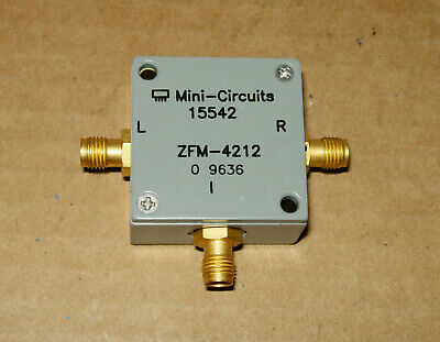 Mini-circuits Zfm-4212 Frequency Mixer 2.0-4.2 Ghz If 0-1.3 Ghz 7 Dbm Sma
