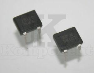 DB107-DB-107-Ponte-di-Diodi-Raddrizzatore-1A-700V-2-Pezzi