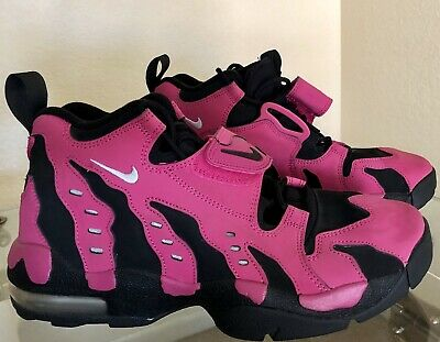 28d97b6ba5d Nike Air DT Diamond Turf Max 96 Shoes Vivid Pink Black Silver - Rare - Size  10