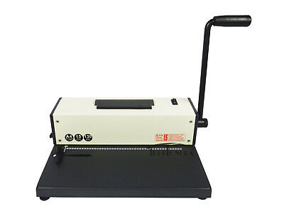 Plastic Spiral Coil Insert Binding Machine Binder Electric 110v
