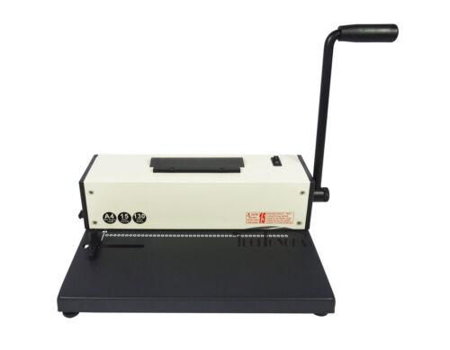 Plastic Spiral Coil Insert Binding Machine Binder Electric 110v