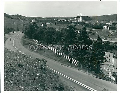 Beautiful Scenery Along Trans Canada Highway Original News Service Photo