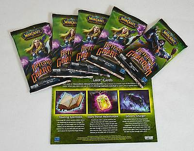 WoW - 5x Betrayal of the Guardian Booster - Loot Chance Ghostly Charger - OVP