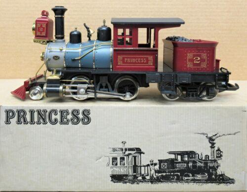 Hartland (HLW) 09400 Princess 2-4-4 Steam Engine G-Gauge LN - TESTED AND WORKS
