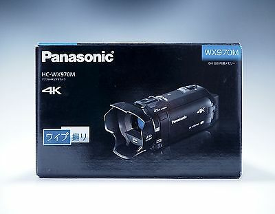 Panasonic HC-WX970M 64GB 4K Video Camera Camcorder NTSC -Black- *Free Shipping*