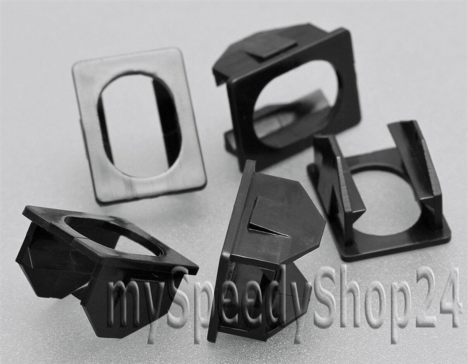 10x clip di fissaggio per BMW e46 e90 e91 e92 e93 e83 MINI r50 r52 r53 r55 r56