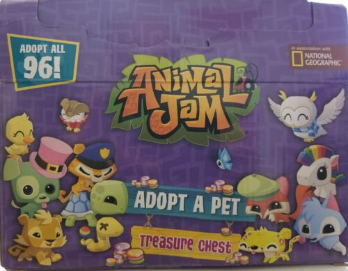 Animal Jam Adopt A Pet Treasure Chests Mystery Case of 24 For Sale - 6