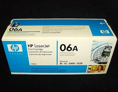 READ•HP 06A•C7115A LaserJet•Toner Cartridge•Black•For: HP 5L • 6L • 3100 • 3150
