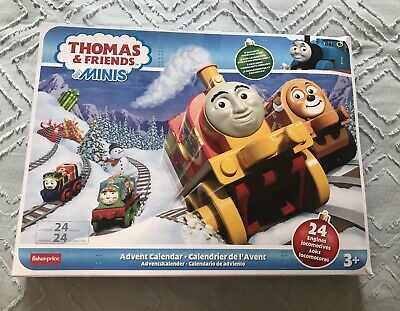 New In Box Thomas and Friends MINIS Advent Calendar Christmas Kid Gift Trains