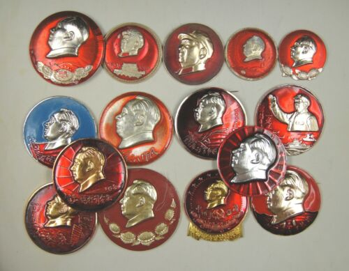China Cultural Revolution Chairman Mao Zedong Pin (One Piece)