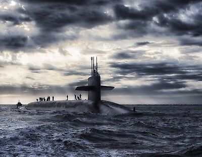 METAL REFRIGERATOR MAGNET Military Navy Submarine Men Ocean for sale  Shipping to India
