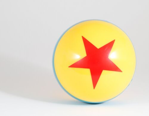New Disney Pixar Iconic Yellow Ball with Red Star - Toy Story