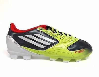 best website cd6db dae02 Adidas Big Kids Juniors F5 TRX FG Soccer Cleat Neon LimeWhite V22464 a4  Sz 4.5