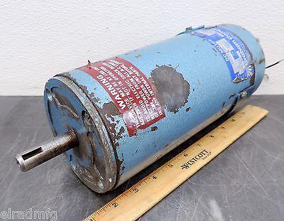 Graham Company Pacific Scientific 600252131 Dc Electric Motor 1200 Rpm 14 Hp 03