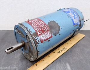 Graham Company Pacific Scientific 600252131 Dc Electric Motor 1200 Rpm 1 4 Hp 03