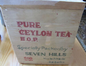 VINTAGE PURE CEYLON TEA iN WOODEN PACKAGE - <span itemprop='availableAtOrFrom'>Gdynia, Polska</span> - VINTAGE PURE CEYLON TEA iN WOODEN PACKAGE - Gdynia, Polska