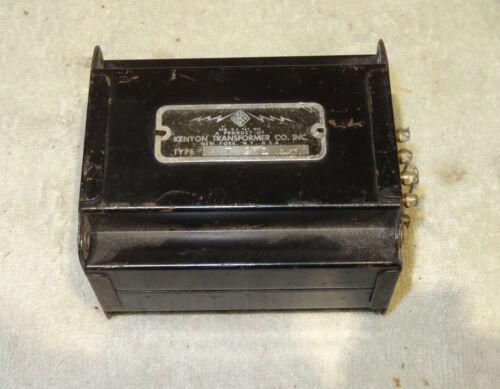 Kenyon T271 input transformer