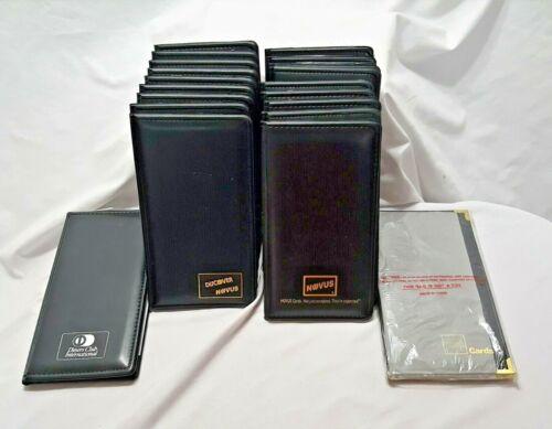 GUEST CHECK PRESENTERS - 20 PCS  RESTAURANT SERVER BOOKS DOUBLE PANEL black